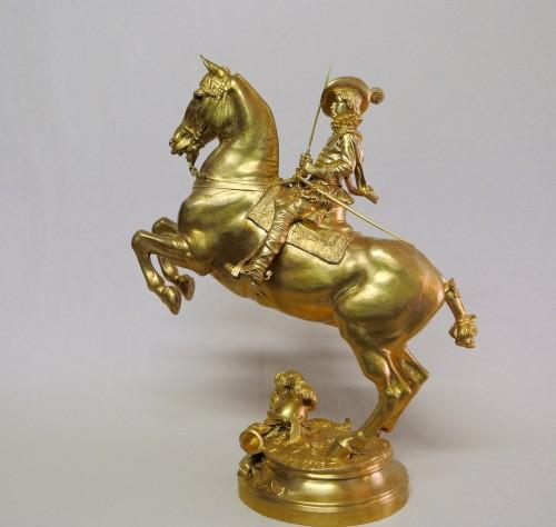 """""""Louis XIII child"""" Emmanuel Frémiet (1824/1910) - Sculpture Style Art nouveau"""