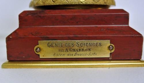 """Art nouveau - """"Génius of Science"""", Alfred-Joseph Charron (1863/1955)"""