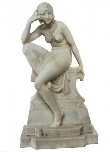 Oriental dancer Telemaco Cipriani (XIXème/XXème)