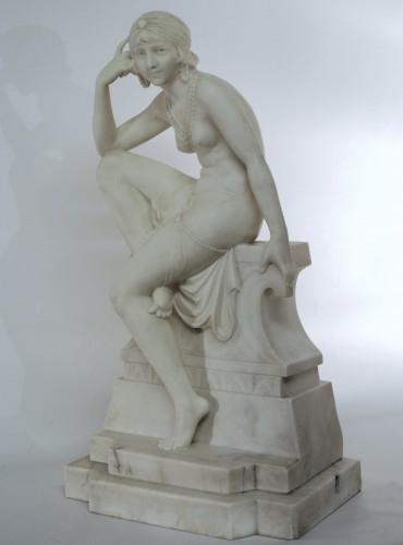 Oriental dancer Telemaco Cipriani (XIXème/XXème) -