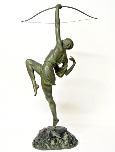 Sculpture  - Diane chasseresse - Pierre Le Faguays (1892 - 1962 )