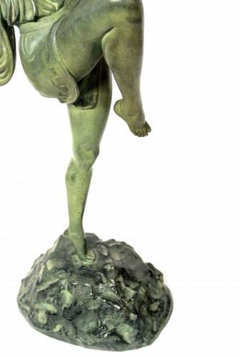 Diane chasseresse - Pierre Le Faguays (1892 - 1962 ) - Art Déco