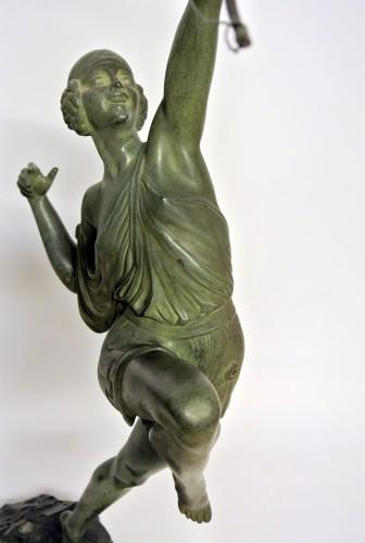 Art Déco - Diane chasseresse - Pierre Le Faguays (1892 - 1962 )