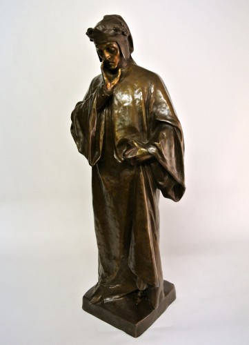 Dante Alighieri- Affortunato Gory (1895/1925) - Sculpture Style Art Déco