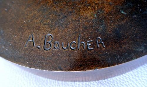 Art nouveau - The Faneuse - Alfred Boucher (1850-1934)