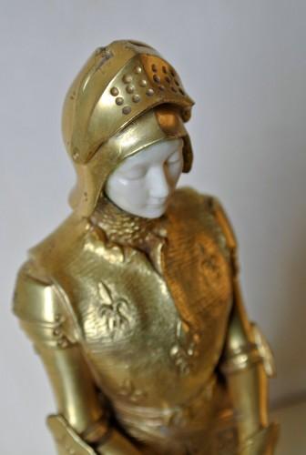 """Antiquités - """"Jehanne la Sainte"""" Prosper d'Epinay (1836/1914)"""