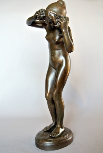 """Art Déco - """"Echo of the sea"""" Lucien Alliot (1877/1967)"""