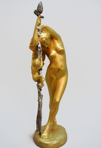 Bacchante - Jean-Léon GEROME (1824/1904) - Sculpture Style Art nouveau