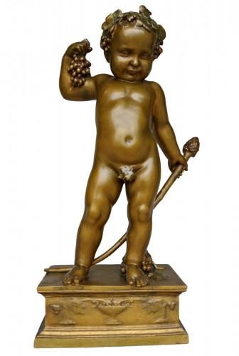 Bacchus enfant, Antonin Carlès (1851/1919)