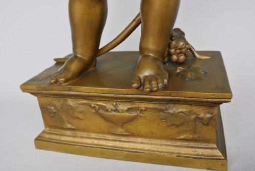 Art nouveau - Bacchus enfant, Antonin Carlès (1851/1919)