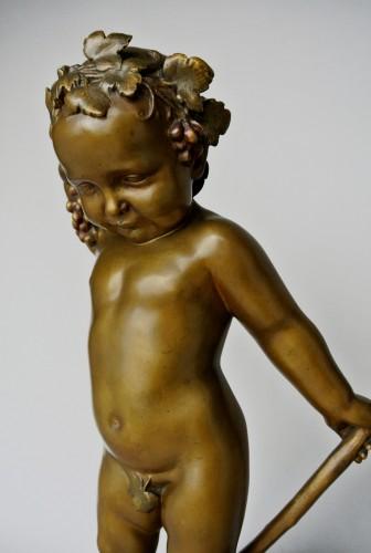 Antiquités - Bacchus enfant, Antonin Carlès (1851/1919)