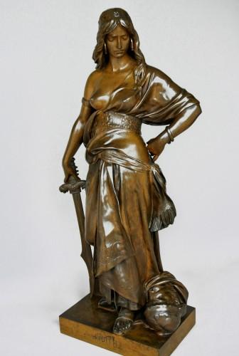 """Sculpture  - """"Judith"""" Eugène Aizelin (1821/1902)"""