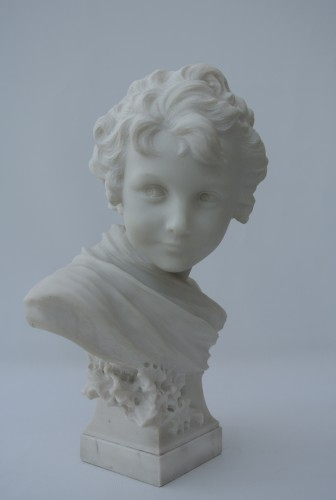 Sculpture  - Cupidon, Léonard Agathon (1841/1923)