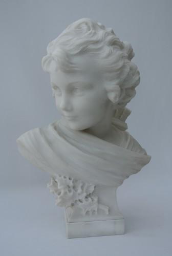 Cupidon, Léonard Agathon (1841/1923) - Art nouveau