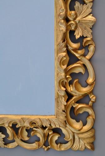 Miroir à fronton d'époque XIXème - Mirrors, Trumeau Style Napoléon III