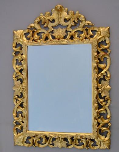 Mirrors, Trumeau  - Miroir à fronton d'époque XIXème