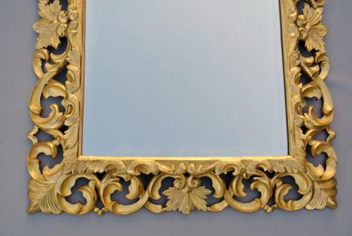Miroir à fronton d'époque XIXème -