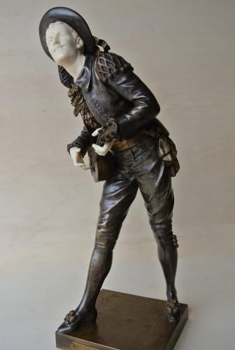 """Sculpture  - """"Figaro"""" Eutrope Bouret (1833/1906)"""