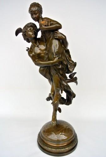 Mercure et Pandore, Vincent Désiré Faure de Broussé (1855/1908) - Art nouveau