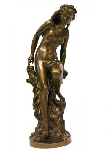 """""""La Frileuse"""" Jean-Baptiste Carpeaux (1827/1875)"""