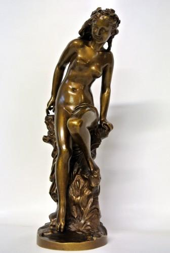 """Sculpture  - """"La Frileuse"""" Jean-Baptiste Carpeaux (1827/1875)"""