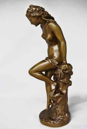"""La Frileuse"" Jean-Baptiste Carpeaux (1827/1875) - Art nouveau"