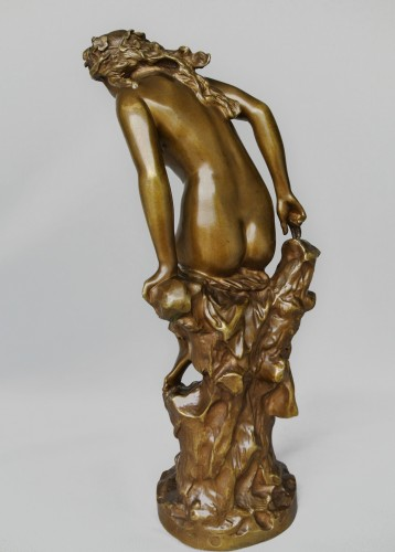 "Art nouveau - ""La Frileuse"" Jean-Baptiste Carpeaux (1827/1875)"