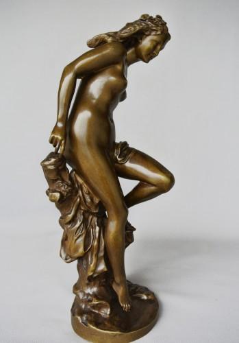 """Antiquités - """"La Frileuse"""" Jean-Baptiste Carpeaux (1827/1875)"""