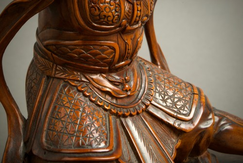 Antiquités - Komei – A Japanese Benkei and the bell
