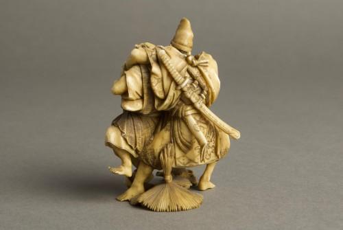 - Suisen – A Japanese okimono of Taira no Tadamori