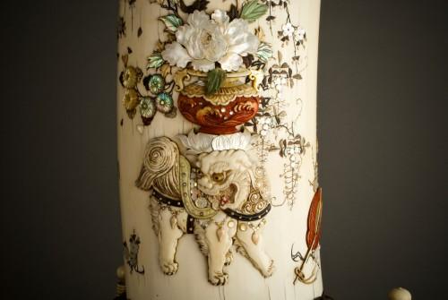 - Ryomune – A Japanese Shibayama ivory tusk