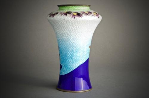 Asian Art & Antiques  - A Japanese cloisonnè vase