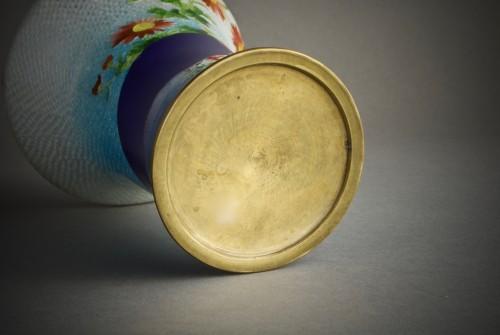 Antiquités - A Japanese cloisonnè vase