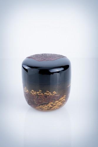 Asian Art & Antiques  - A Japanese o-natsume Fuji
