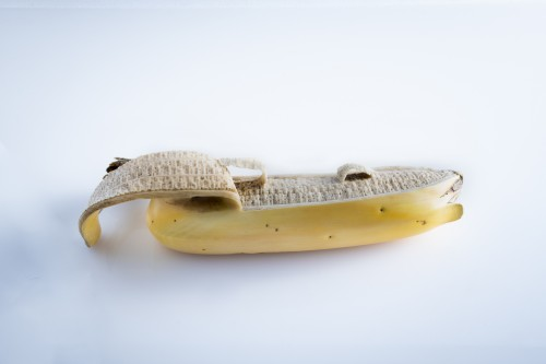 A Japanese ivory study of a banana - Asian Art & Antiques Style