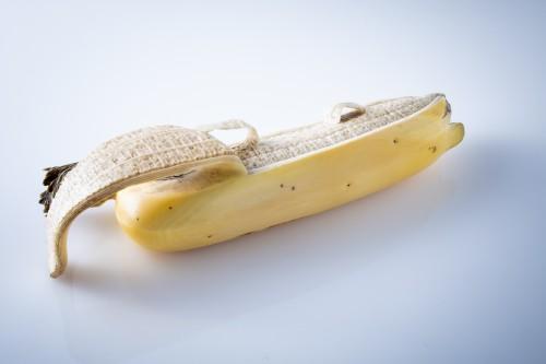 Asian Art & Antiques  - A Japanese ivory study of a banana