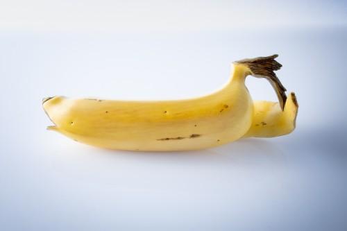 A Japanese ivory study of a banana -