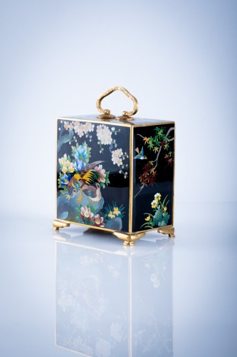 Asian Art & Antiques  - Inaba – A Japanese kodansu cloisonné