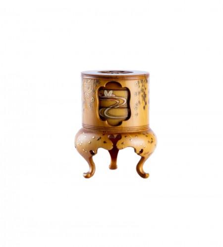 A Japanese ivory kogo box