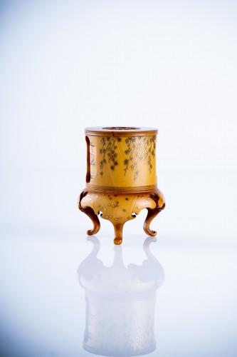 A Japanese ivory kogo box - Asian Art & Antiques Style
