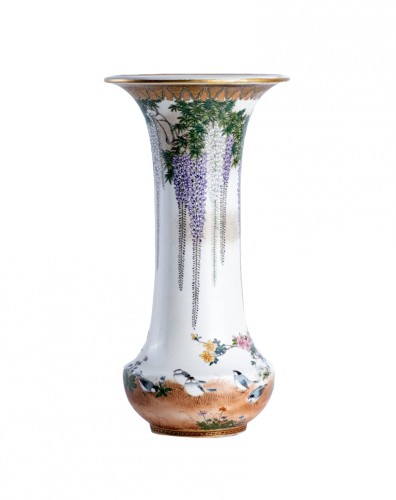 Kinkozan Sobei - A Japanese Satsuma vase