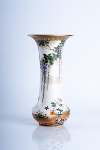 Kinkozan Sobei - A Japanese Satsuma vase - Asian Art & Antiques Style