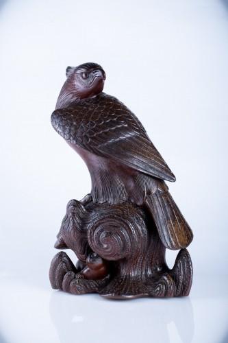 20th century - A Japanese study of an hawk