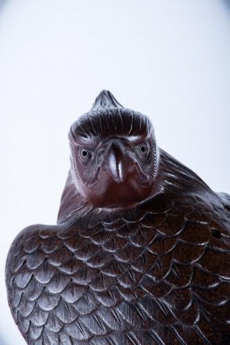 - A Japanese study of an hawk