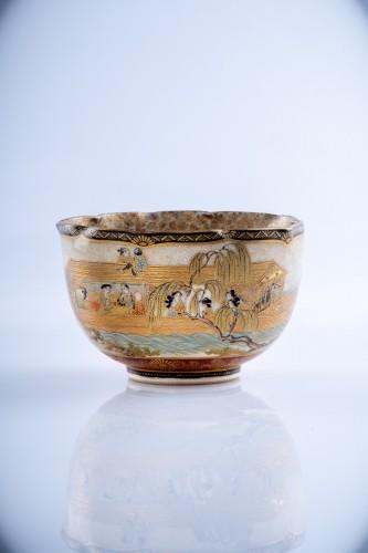 Asian Works of Art  - Juzan - A Japanese Satsuma bowl