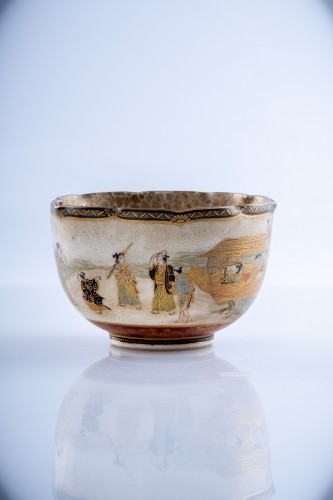 Juzan - A Japanese Satsuma bowl  -