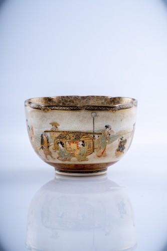 19th century - Juzan - A Japanese Satsuma bowl