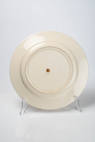 Kinkozan - A Japanese Satsuma plate -