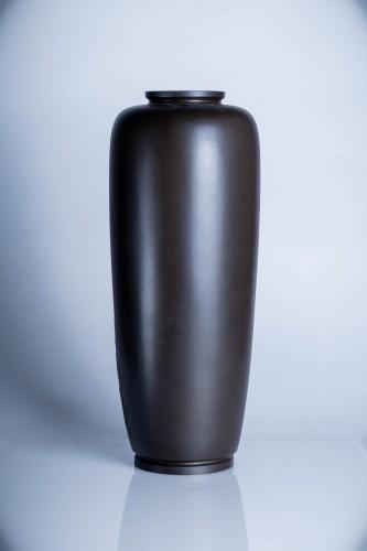 A Japanese bronze vase  - Asian Art & Antiques Style