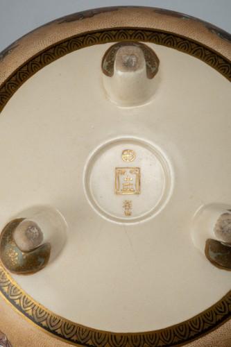 Fuzan for Yasuda company - A Japanese Satsuma bowl -